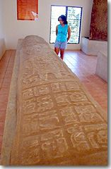 Large Stelae with head dress