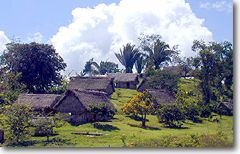 Maya Village Hillside